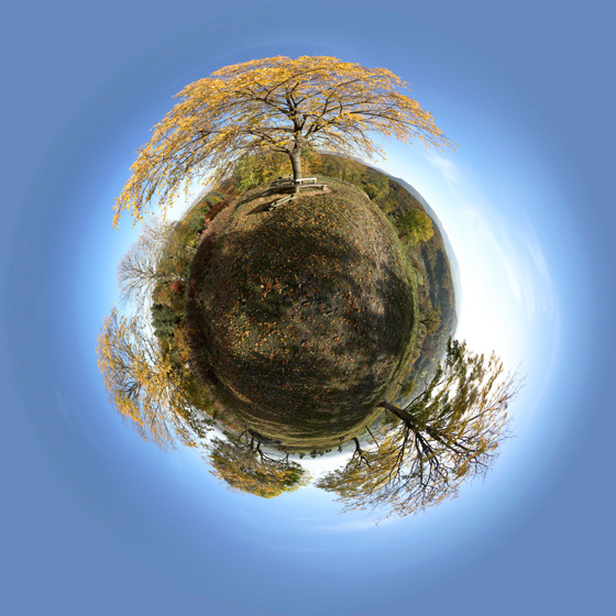 Little Planet: Florian im Herbst