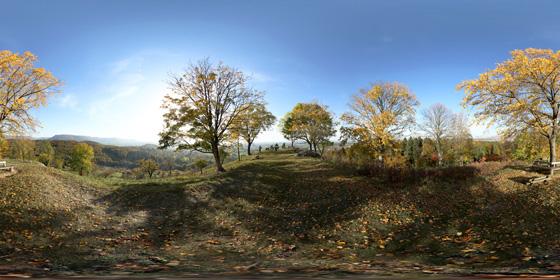 360°-Panorama: Florian im Herbst