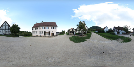 Freilichtmuseum Beuren außen