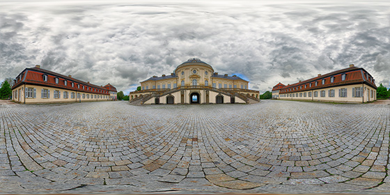 Schloss Solitude HDR-Panorama
