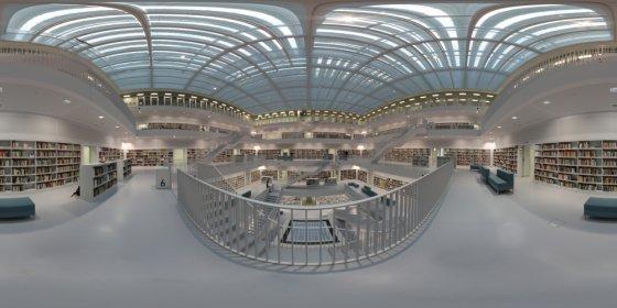 Stadtbibliothek Stuttgart Ebene 6