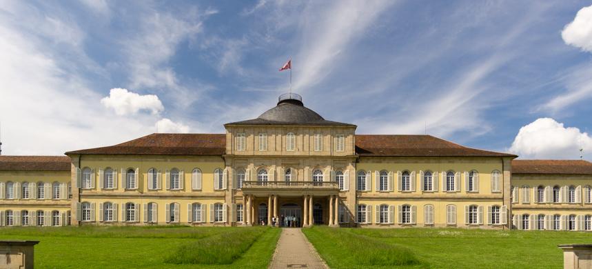 Schloss Hohenheim Südansicht