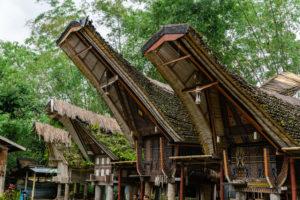 Tonkonan im Dorf Kete-Kesu