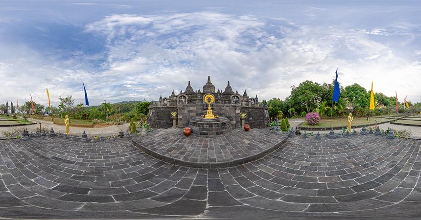 Buddhistisches Kloster Brahma Vihara Arama, Bali, Indonesien