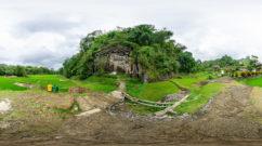 Felsengräber in Lemo, Tanah Toraja, Südsulawesi, Indonesien